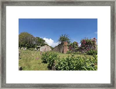 Up Foundry Lane Hayle Framed Print