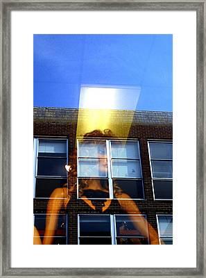 Up High Framed Print by Jez C Self