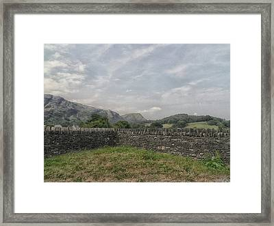 Up High Framed Print by Martin Newman