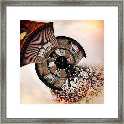 Up In A Tower With Nothing To See Framed Print by Amy DiPasquale