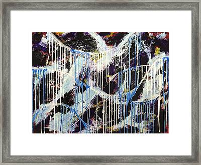 Up In The Air Framed Print by Sheila Mcdonald