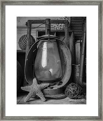 Up In The Attic Framed Print by Edward Fielding