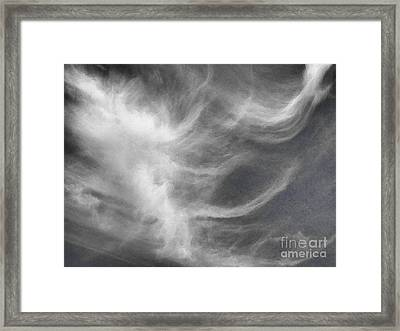 Up In The Clouds #2 Framed Print by Robyn King