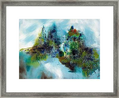 Up North Framed Print by Jane Robinson