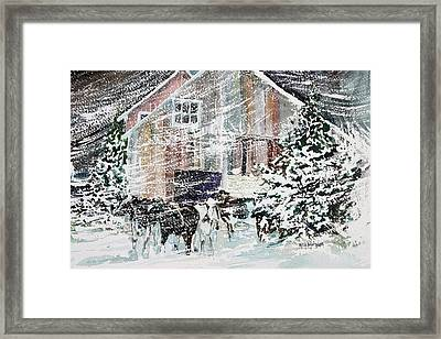 Up North Framed Print