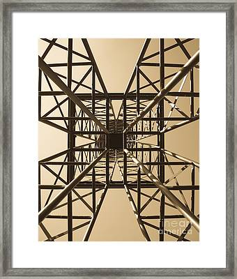 Up On All Fours Framed Print by Charles Dobbs
