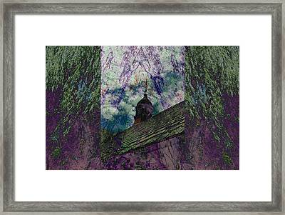 Up On The Rooftop Framed Print