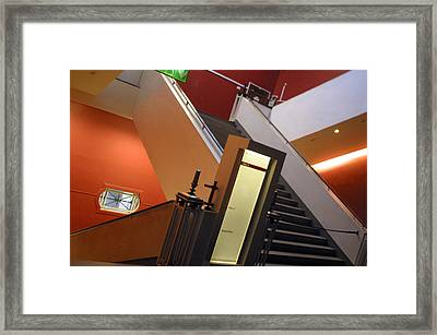 Up Or Down 2 Framed Print by Jez C Self