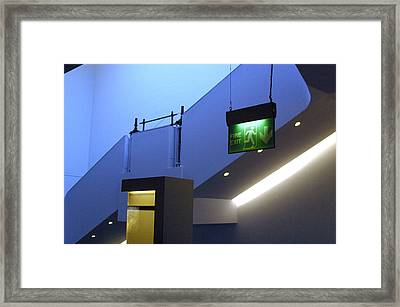 Up Or Down Framed Print by Jez C Self