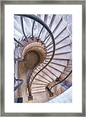 Up Or Down? Framed Print
