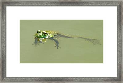 Up Periscope Framed Print