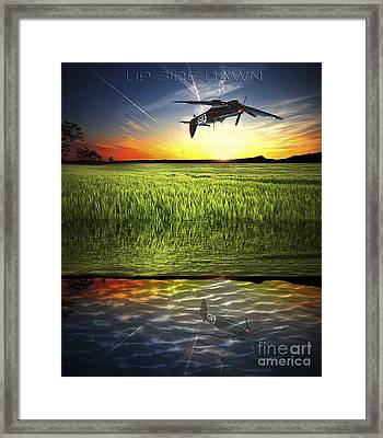 Up Side Dawn Framed Print