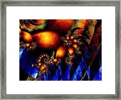 Up The Volume Framed Print by Lauren Goia