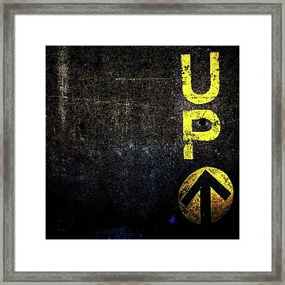Up The Wall Framed Print by Bob Orsillo