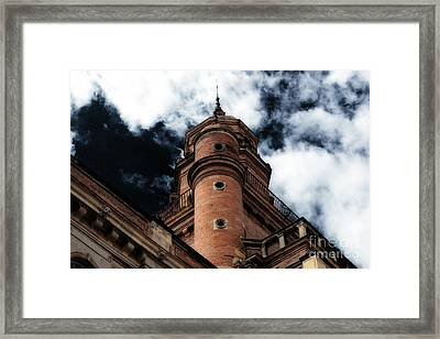 Up There Framed Print by Cendrine Marrouat