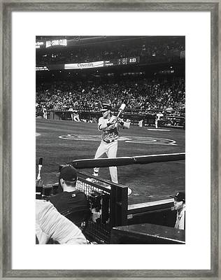 Up To Bat 2 Framed Print