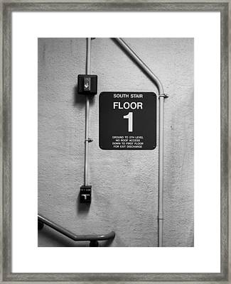 Framed Print featuring the photograph Up To One by Bob Orsillo