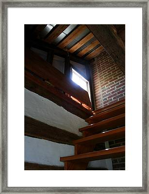 Up To The Attic Framed Print by Rebecca Smith