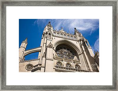 Up To The Heavens  II Framed Print by Irene Abdou