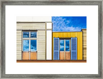 Up Town Framed Print