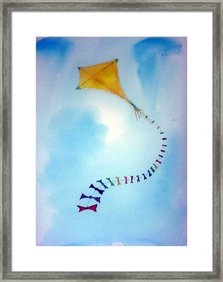 Up Up And Awaaay Framed Print
