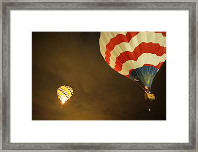 Up Up And Away  Framed Print by Jeff Swan