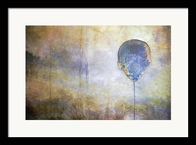 Worn Digital Art Framed Prints