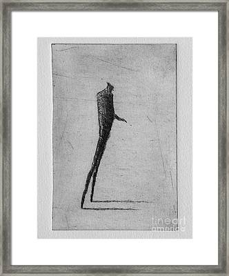 Up Framed Print by Valdas Misevicius