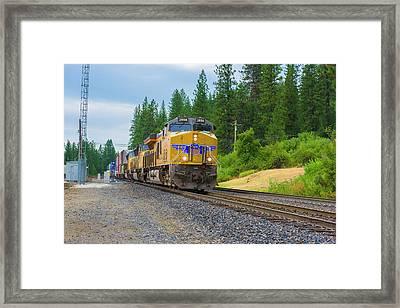 Up5698 Framed Print