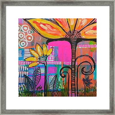 #upclose And #colorful #jumbojournal Framed Print