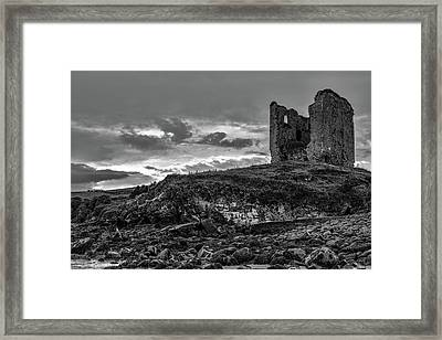 Upcomming Myth Bw #e8 Framed Print
