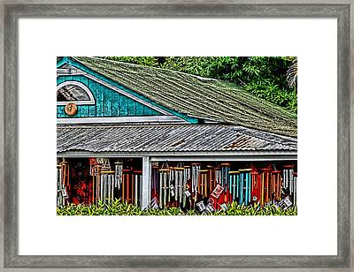 Upcountry Chimes Framed Print