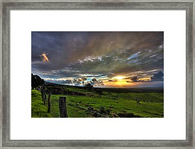 Upcountry Framed Print by James Roemmling