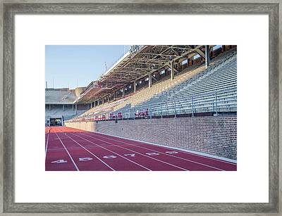 Upenn - Franklin Field Framed Print by Bill Cannon