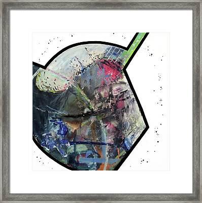 Upgrade Your Imagination  Framed Print by Antonio Ortiz