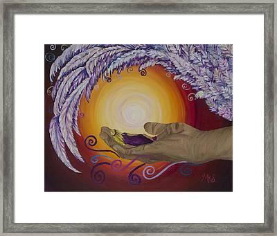 Upheld Framed Print by Marissa Sievert