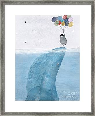 Framed Print featuring the painting Uplifting by Bri B