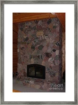 Upload For Stone Mosaics Group Framed Print