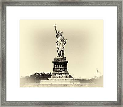 Upon Arrival Framed Print by William Feig