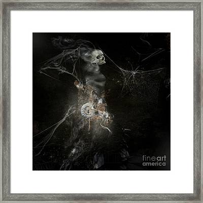 Upon Your Request  Framed Print