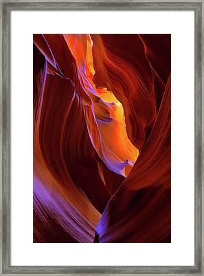 Upper Antelope Canyon II Framed Print