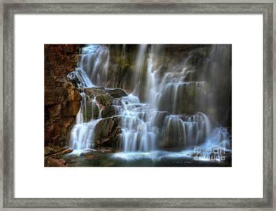 Upper Beartooth Falls Framed Print