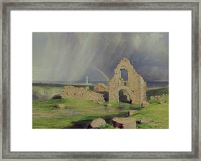 Upper Boddam Castle Framed Print by James Giles
