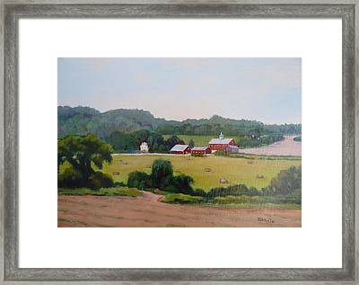 Upper Bucks County Farm Framed Print