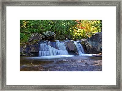 Upper Corkscrew Falls Framed Print by Arthurpete Ellison