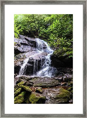 Upper Dill Falls Framed Print