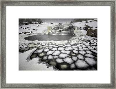 Upper Dog Falls At Silver Falls Provincial Park Framed Print