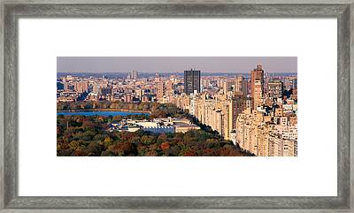 Upper East Side Central Park New York Framed Print by Panoramic Images