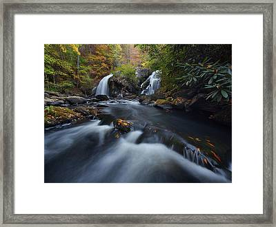 Upper Turtletown Falls Autumn Framed Print