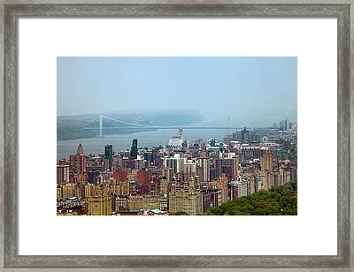 Upper West Side Framed Print by Az Jackson